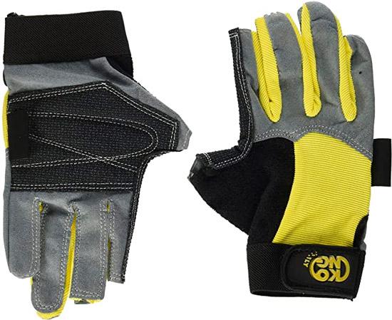 mejores guantes para via ferrata kong